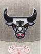 Mitchell & Ness Casquette Snapback & Strapback Team Heather HWC Chicago Bulls gris
