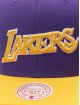 Mitchell & Ness Casquette Snapback & Strapback Wool 2 Tone HWC Los Angeles Lakers pourpre