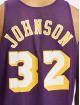 Mitchell & Ness Débardeur Reversible Los Angeles Lakers Magic Johnson pourpre