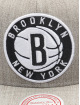 Mitchell & Ness Gorra Snapback Team Heather Brooklyn Nets gris