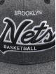 Mitchell & Ness Gorra Snapback NBA Brooklyn Nets Melton COD gris