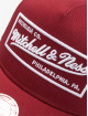 Mitchell & Ness Gorra Trucker NBA Classic Trucker Box Logo rojo 3