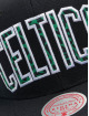 Mitchell & Ness Snapback Cap Wildback HWC Boston Celtics black
