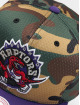 Mitchell & Ness Snapback Cap Woodland Toronto Raptors Cover camouflage 3