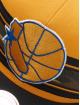 Mitchell & Ness Snapback Cap Woodland Golden State Warriors Covert gelb 3