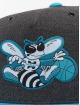 Mitchell & Ness Snapback Cap HWC Charlotte Hornets Woven Reflective gray 3