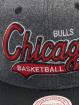 Mitchell & Ness Snapback Cap NBA Chicago Bulls HWC Melton COD grigio