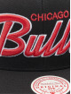 Mitchell & Ness Snapback Cap Foundation Script HWC Chicago Bulls nero