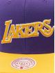 Mitchell & Ness Snapback Cap Wool 2 Tone HWC Los Angeles Lakers purple
