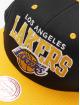 Mitchell & Ness Snapback Cap LA Lakers HWC Team Arch schwarz 3