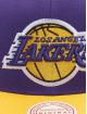 Mitchell & Ness Snapback Cap Wool 2 Tone Los Angeles Lakers viola