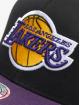 Mitchell & Ness Snapback Caps NBA LA Lakers 110 2 Tone czarny 3