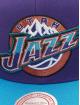Mitchell & Ness Snapback Caps Wool 2 Tone HWC Utah Jazz fialový