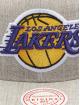 Mitchell & Ness Snapback Caps Team Heather Los Angeles Lakers harmaa
