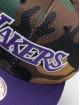 Mitchell & Ness Snapback Caps Woodland LA Lakers Cover kamuflasje