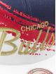 Mitchell & Ness Snapback Caps Independence Chicago Bulls niebieski