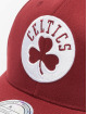 Mitchell & Ness Snapback Caps NBA Boston Celtics 110 Curved red 3