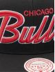 Mitchell & Ness Snapbackkeps Foundation Script HWC Chicago Bulls svart