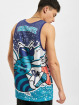 Mitchell & Ness Tank Tops Jumbotron Sublimated Charlotte Hornets blå