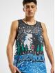 Mitchell & Ness Tank Tops Jumbotron Sublimated Minnesota Timberwolves blau
