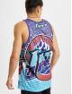 Mitchell & Ness Tank Tops Jumbotron Sublimated Utah Jazz blue
