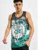 Mitchell & Ness Tank Tops Jumbotron Sublimated Boston Celtics green