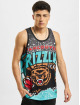 Mitchell & Ness Tank Tops Jumbotron Sublimated Vancouver Grizzlies green