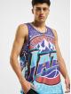 Mitchell & Ness Tank Tops Jumbotron Sublimated Utah Jazz modrá