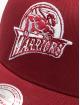 Mitchell & Ness Trucker Cap NBA Golden State Warriors Classic rosso 3