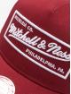 Mitchell & Ness Truckerkeps NBA Classic Trucker Box Logo röd 3