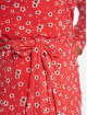 NA-KD Šaty Mesh Wrap červený 3