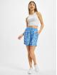 NA-KD Šortky Frill modrý