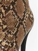 NA-KD Boots-1 Two Colour Stiletto brown