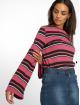 NA-KD Hihattomat paidat Wide Sleeve Striped vaaleanpunainen 0