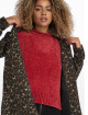 NA-KD Pullover Chenille rot 0