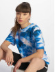 NA-KD T-Shirt Aquarelle Printed blau