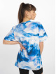NA-KD T-Shirt Aquarelle Printed blue 1