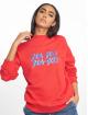 NA-KD trui High Collar rood 0