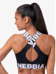 Nebbia Linne Fitness svart