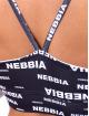 Nebbia top Recycled Ocean Plastic zwart