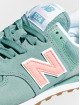 New Balance Baskets WL574 bleu 6