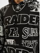 New Era Толстовка NFL Oakland Raiders Raiders Allover Print PO черный