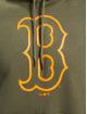 New Era Bluzy z kapturem MLB Boston Red Sox Seasonal Team Logo oliwkowy