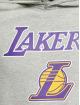 New Era Bluzy z kapturem Team Logo LA Lakers Hoody szary
