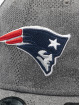 New Era Casquette Flex Fitted NFL New England Patriots Engineered Plus 39Thirty gris