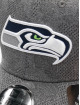 New Era Casquette Flex Fitted NFL Seattle Seahawks Engineered Plus 39Thirty noir