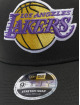 New Era Casquette Snapback & Strapback NBA LA Lakers Stretch 9fifty noir