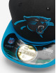 New Era Fitted Cap NFL On Field Carolina Panthers èierna