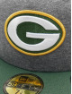 New Era Fitted Cap Jersey NFL Green Bay Packers Essential 59Fifty šedá