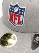 New Era Fitted Cap League Logo NFL Generic Logo 59Fifty gray